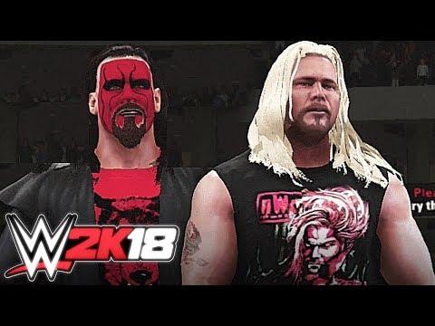 WWE 2K18 - nWo Wolfpac Entrance (Sting & Kevin Nash) - Superstar Studio
