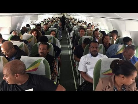 Historic Ethiopian flight welcomed in Eritrea with cheers