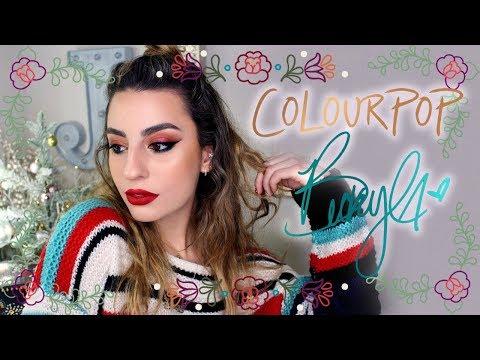 Colourpop X Becky G Collection: Swatches & Demo!