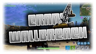 NEW INSANE Walk-In Wallbreach Inside Crane GOD MODE - Fortnite Glitches