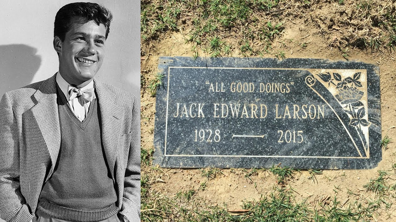 Famous Grave Superman S Jack Larson Jimmy Olsen Rose Hills Cemetery In Whittier Ca Youtube