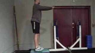 The Single Leg 1/4 Squat