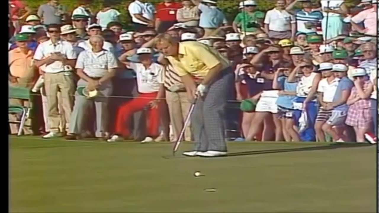 Jack Nicklaus 1986 Masters 17th Verne Lundquist Maybe Yes ...