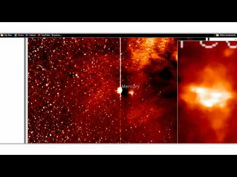 ¿Es un OVNI lo que se ve en este video de la NASA?