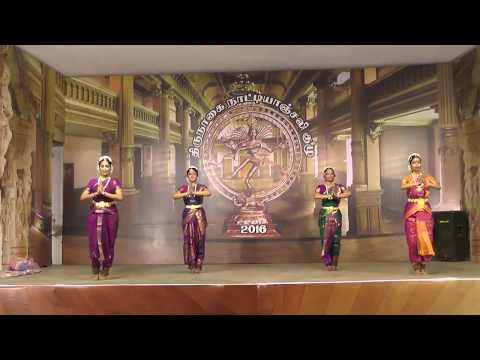 Nrithyodaya   Dr Padma Subrahmanyam Students   Thirunagai Natyanjali Festival 2016 _ cut version