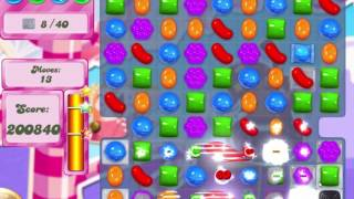 Candy Crush Saga Level 494 Clear all the Jelly!