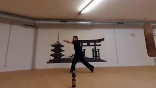 2  Fokus Training Jap Punch  Equipment Wasserflasche