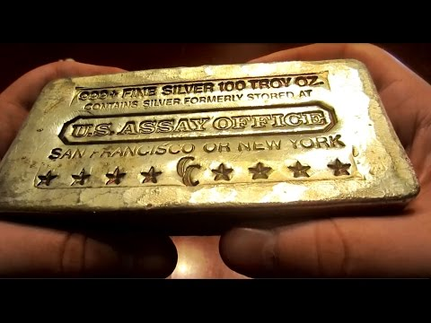 Unboxing an Amazing Rare Historic 100 oz Poured Bar