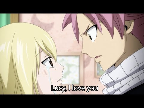Lucy, I Love You - Natsu X Lucy Fairy Tail Episode 328 Finale