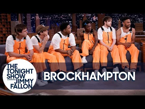 "BROCKHAMPTON - Freestyle About Jimmy Fallon's Acting & Perform ""Sugar"""