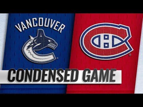 01/03/19 Condensed Game: Canucks @ Canadiens