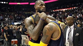 Lebron James and Kyrie Irving - Without You (Emotional)