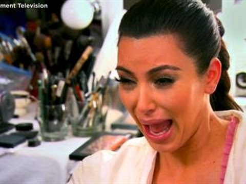 Image result for kim k freaking out