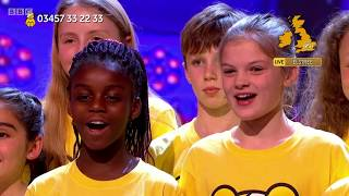 Children in Need Choir 'A Million Dreams' | BBC Children in Need 2018