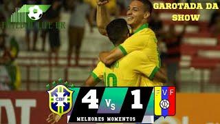 ANTONY vs VENEZUELA! Brasil 4 x 1 Venezuela - Melhores Momentos (HD) Amistoso Sub-23 10/10/19