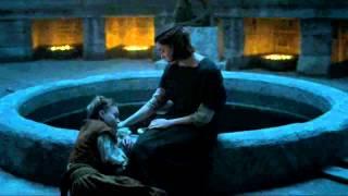 Game of Thrones:: Season 5 Episode 6: Arya Stark lies to ill girl