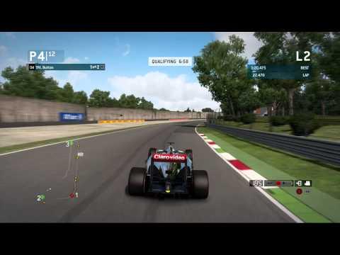 F1 2013 I Monza Hotlap Guide