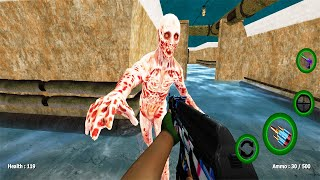 Zombie Evil Horror 4 - Shadow Target - Zombie FPS Shooting Game - Android GamePlay