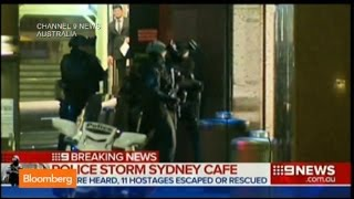 Sydney Siege: Raw Video Shows Police Storm Cafe