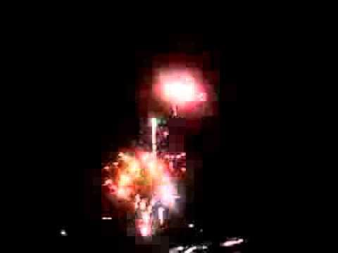 Fireworks at West Gate(Phoenix Cardinals Stadium) AZ Fireworks 4th of July 2013