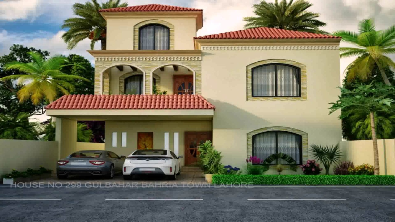 5 marla house front design in pakistan youtube for Pakistani simple house designs
