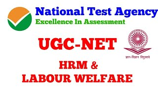 UGC-NET Labour Welfare/Personnel Management/Industrial Relations/ Labour & Social Welfare/HRM BOOKS