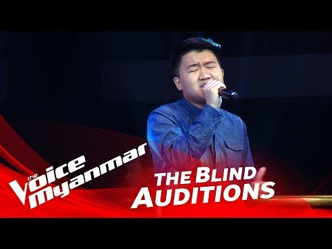 The Voice Myanmar 2018 Blind Audition - Andrew: