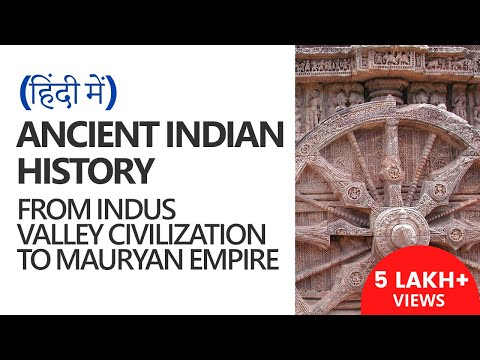 Ancient History in हिंदी - Indus Valley Civilization to Mauryan Empire (UPSC CSE/IAS)- Agam Jain IPS