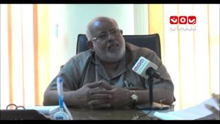 لقاء خاص من الميدان مع أ.سالم مغلس مدير التربية عدن - حوار ابتهال الصالحي 25-9-2015