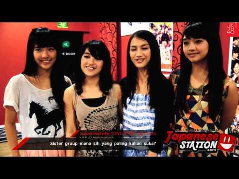 Japanese Station - Special Interview JKT48 Member (Beby, Nabilah, Melody, Sendy)