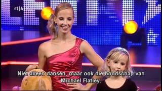 Leanne en Marieke in de finale van Holland