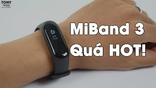 Xiaomi Mi Band 3 quá hot!