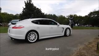 Porsche,Buick & Cadillac coupe casper creek car show 2015