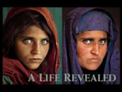 Afghan Girl (Eyes tell the story)