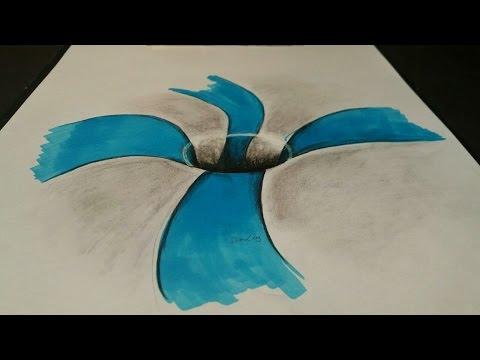 Basit 3D Delik Çizimi - Nasıl 3d Çizim Yapılır?