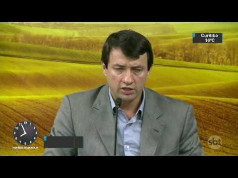 Ministério da Agricultura afasta 33 funcionários após operação da PF - SBT Brasil (17/03/17)
