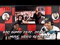 Bad Bunny Feat. Drake mia Music Video Reaction