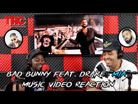 "Bad Bunny feat. Drake ""Mia"" Music Video Reaction"
