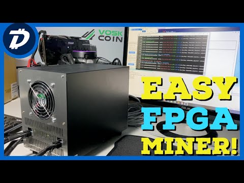 Finally An EASY TO USE FPGA Mining Rig!!! TPS-1530 VU9P Review