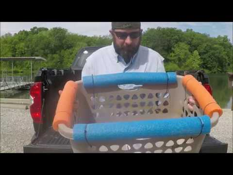 PROJECT- Stripping Basket & Floating Livewell!  CHEAP & EASY!!!