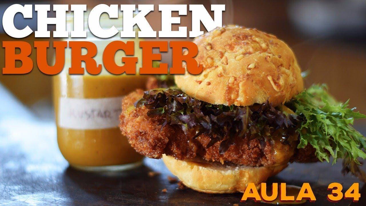 Chicken Burger (Como Fazer Hambúrguer de Frango) / Cansei de ser Chef
