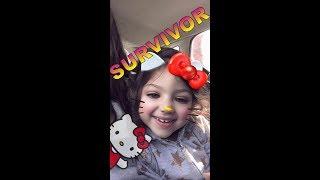 Dilvin'in Survivor Heyecanı Baba Kız Eğleniyor