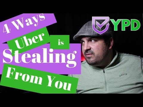 4 Ways Uber🚗 is Stealing 🕵From You 💎🙄😩😱 Explained by Your Personal Driver