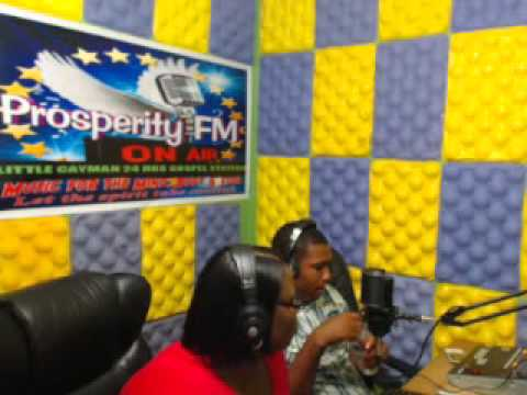 ''PRAISE WITHOUT LIMIT'' 16,02, 2014 ON PROSPERITY FM IN CAYMAN WITH DJ ROBERT