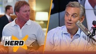 Colin Cowherd on Jon Gruden's coaching style in 2018, the divide in New England | NFL | THE HERD