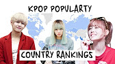 KPOP GROUP POPULARITY COUNTRY RANKINGS - YouTube