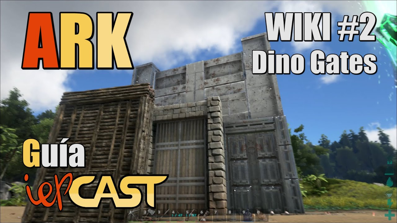 Ark How To Build Walls For Dinosaur Gate