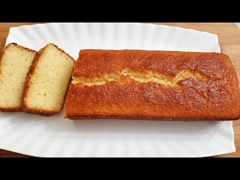 Pound Cake Recipe, Easy, Simple.Best Pound Cake Loaf Cake , Vanilla White Cake Eid Recipes کیک ساده