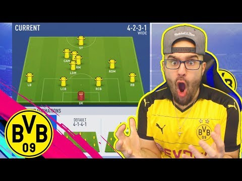 WOW THIS FORMATION IS A CHEAT CODE! FIFA 19 Career Mode DORTMUND thumbnail