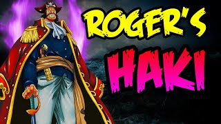 Gol D. Roger's Weapons & Haki - One Piece Theory | Tekking101